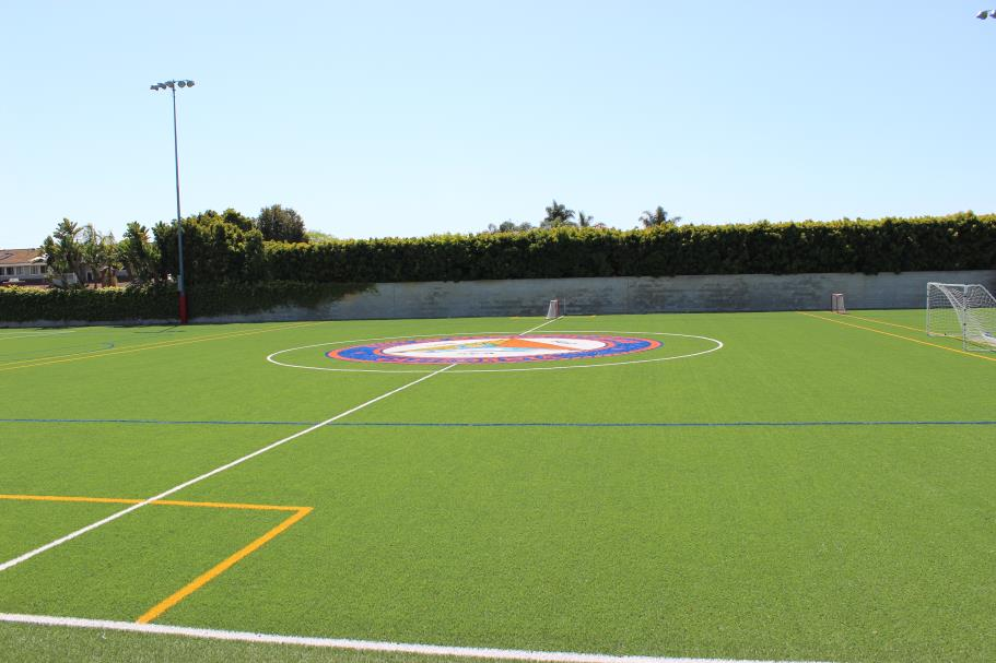 Marine Soccer Synthetic Turf Field