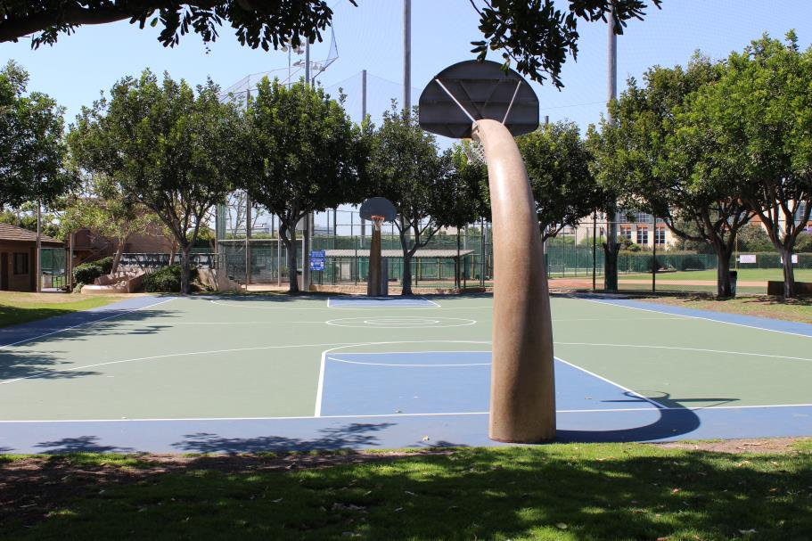 Marine Avenue Park Basketball Court