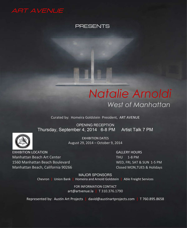 West of Manhattan_Natalie Arnoldi Exhibition