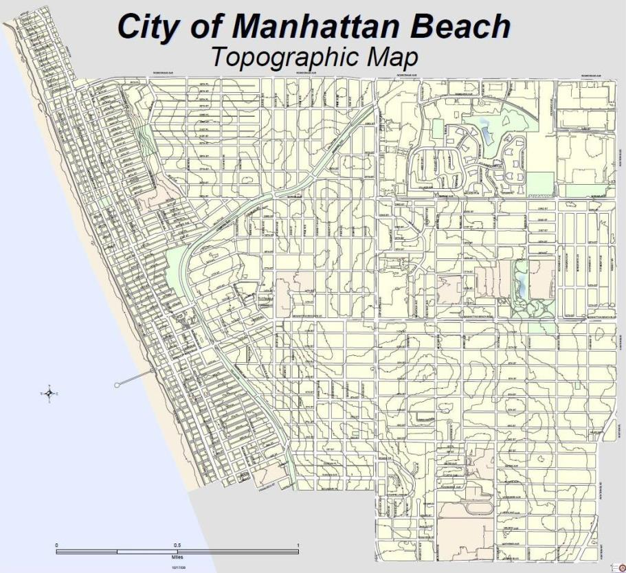 Map Gallery City Of Manhattan Beach