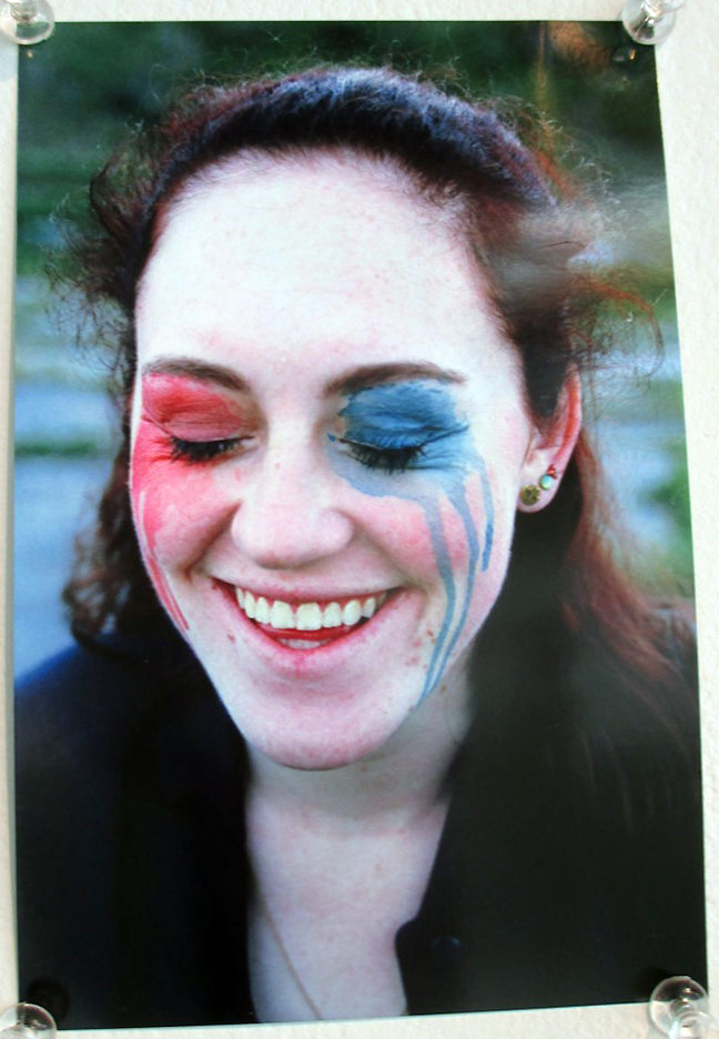 Daisy Red Daisy Blue, Natalie Olivares,  Photography Honorable Mention
