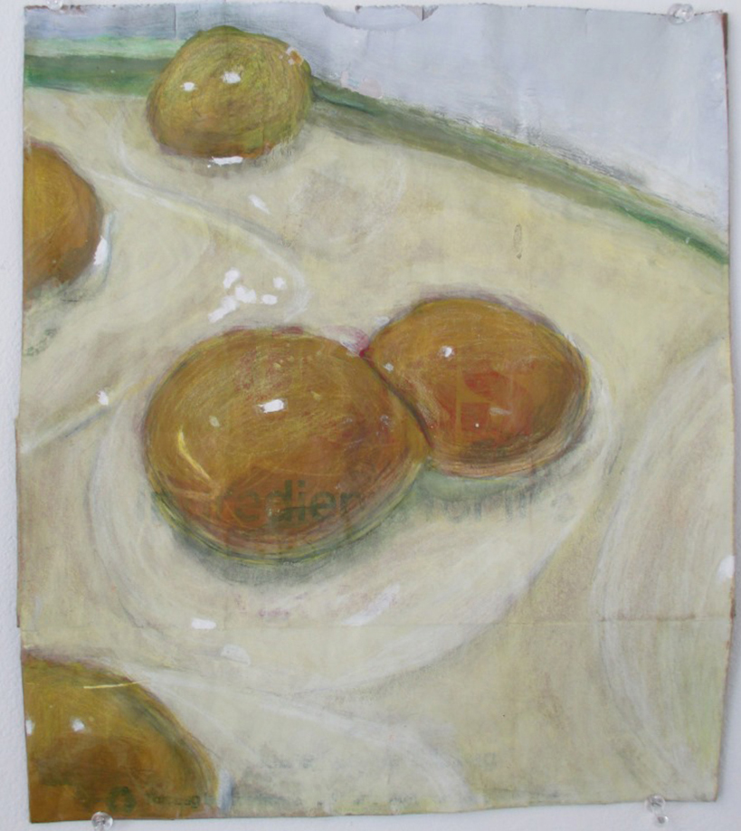 Double Yolk, Michael Wu, Honorable Mention Painting and Drawing
