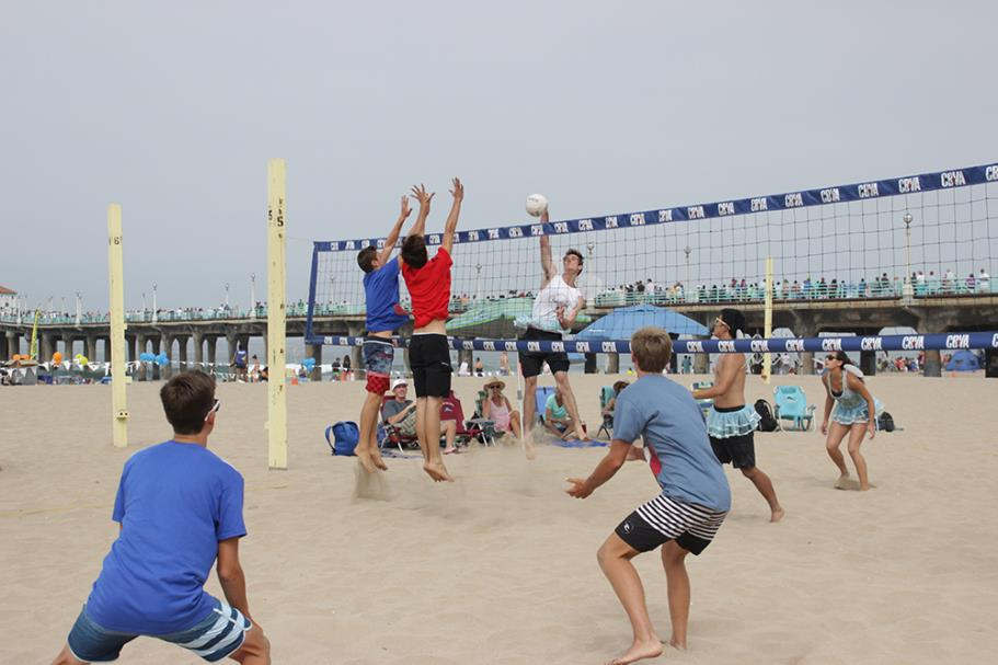 Manhattan Beach Jr. 6-Man Beach Volleyball Tournament