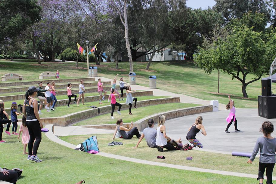 Free Hip Hop dance class in the park