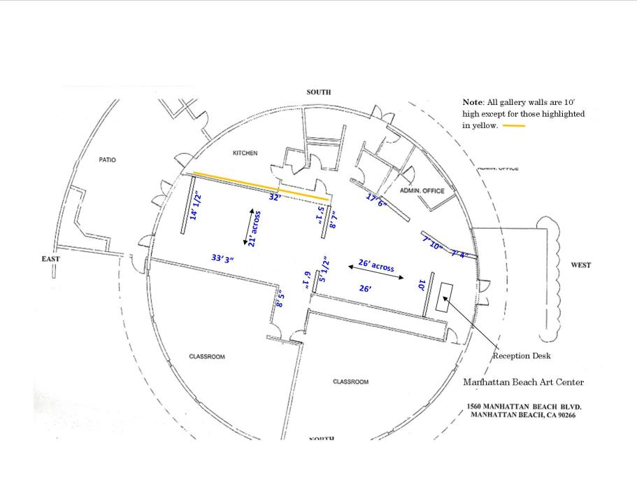New Gallery Floor Plan