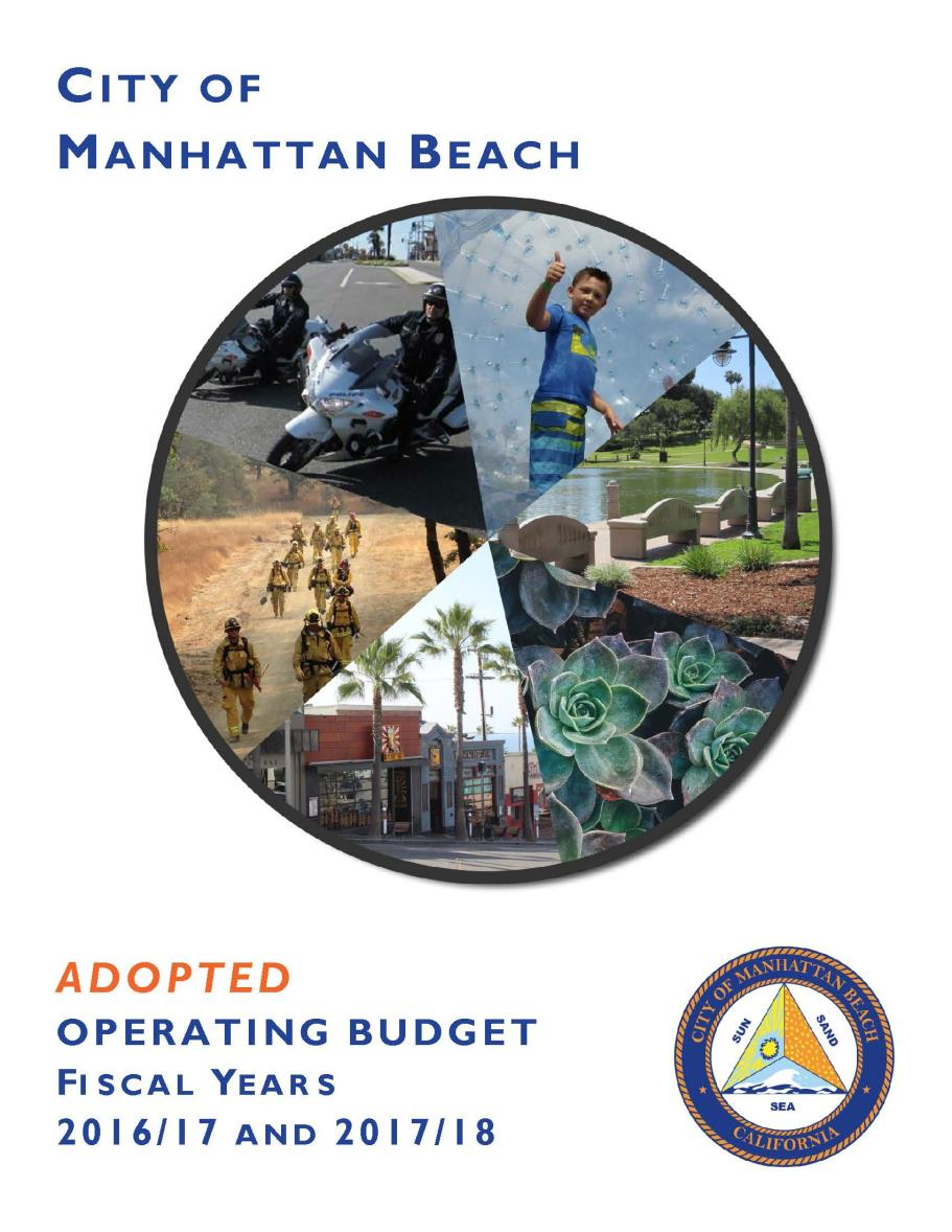Adopted Budget Cover 2017